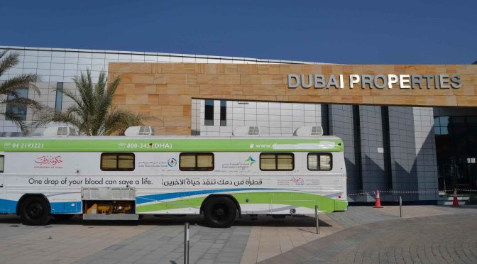 Dubai Properties hosts blood donation campaign at Ras Al Khor office in collaboration with Dubai Health Authority