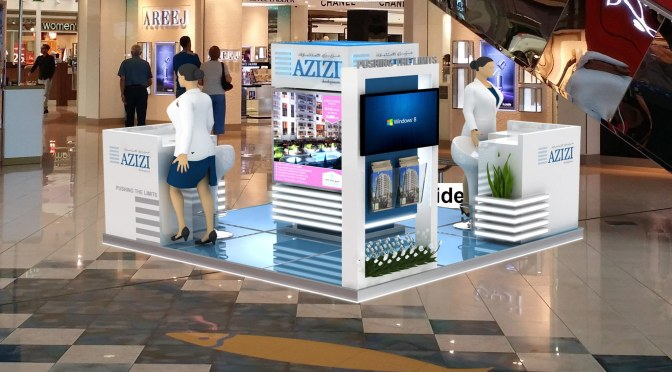 Azizi Developments will be displaying its projects to Ibn Battuta and Marina Mall AbuDhabi